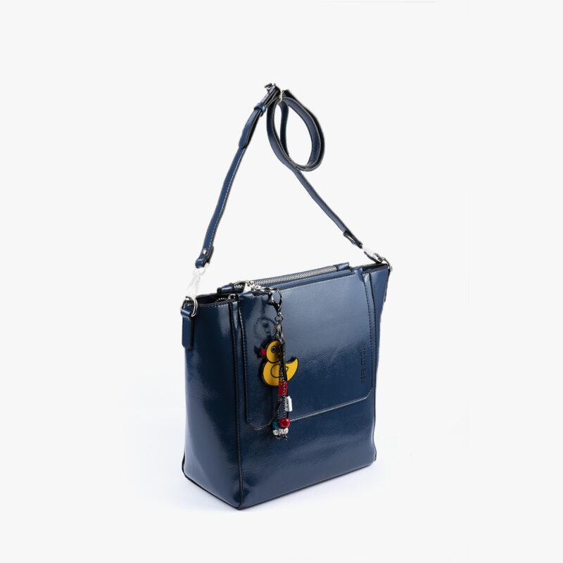 49117 bolso bandolera azul perfil