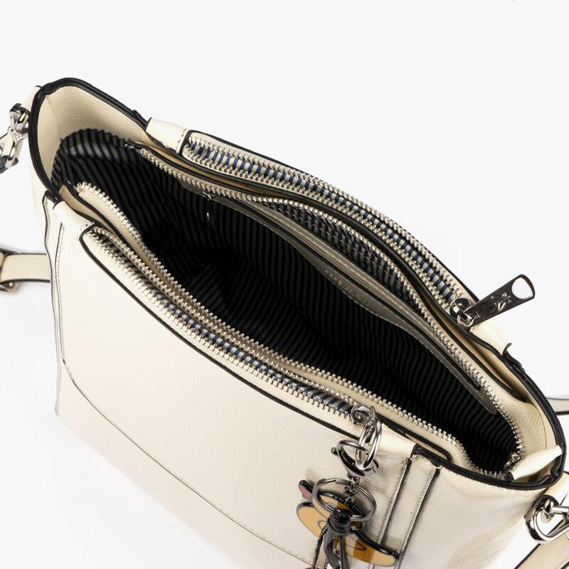 49117 bolso de hombro blanco pepemoll interior