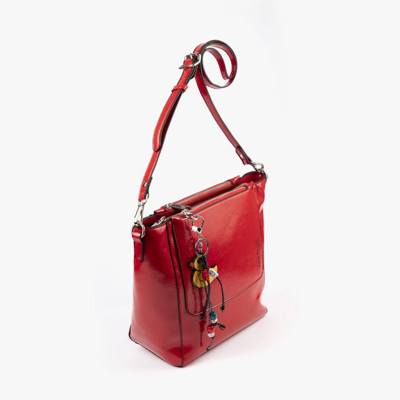 49117 bolso de hombro rojo pepemoll