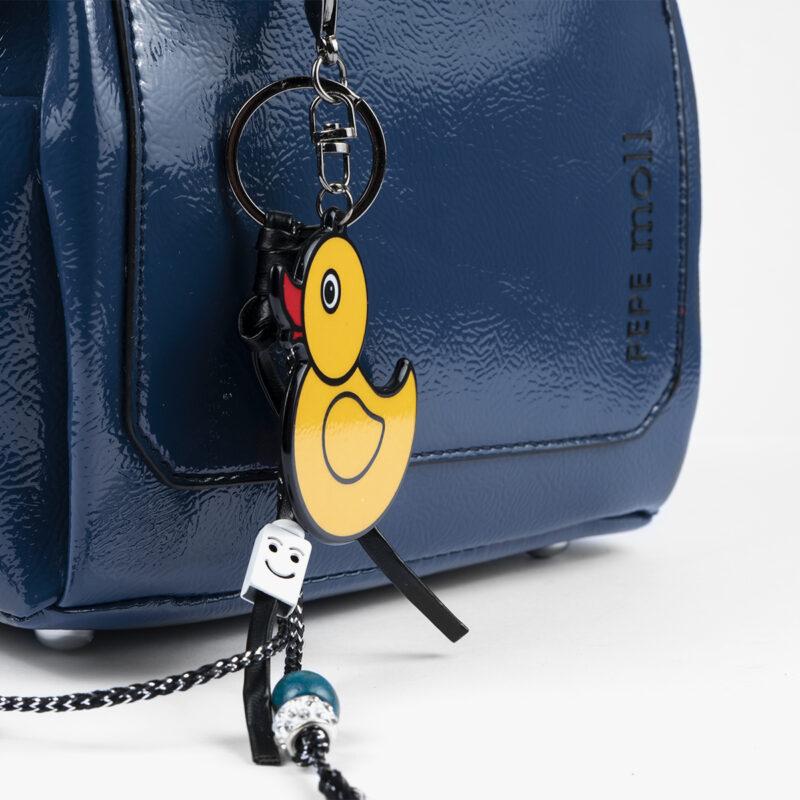 49118 bolso de hombro azul pepemoll detalle