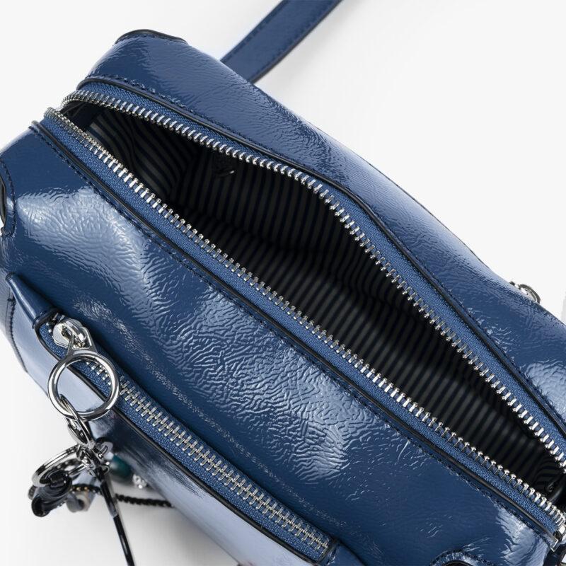 49118 bolso de hombro azul pepemoll interior
