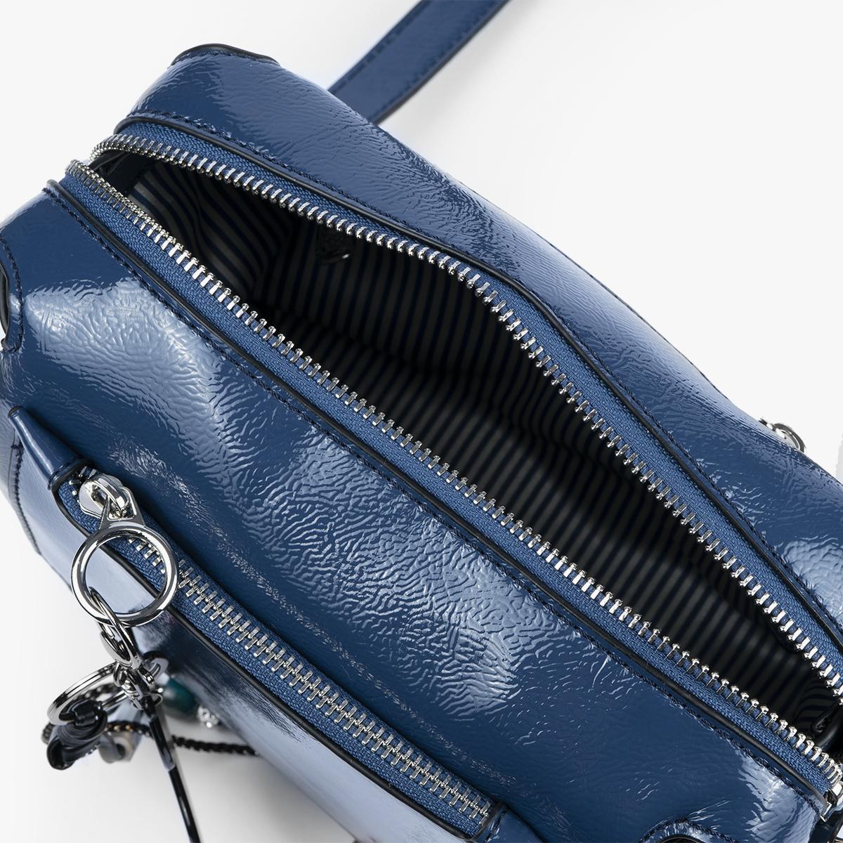 49118 bolso de hombro azul pepemoll