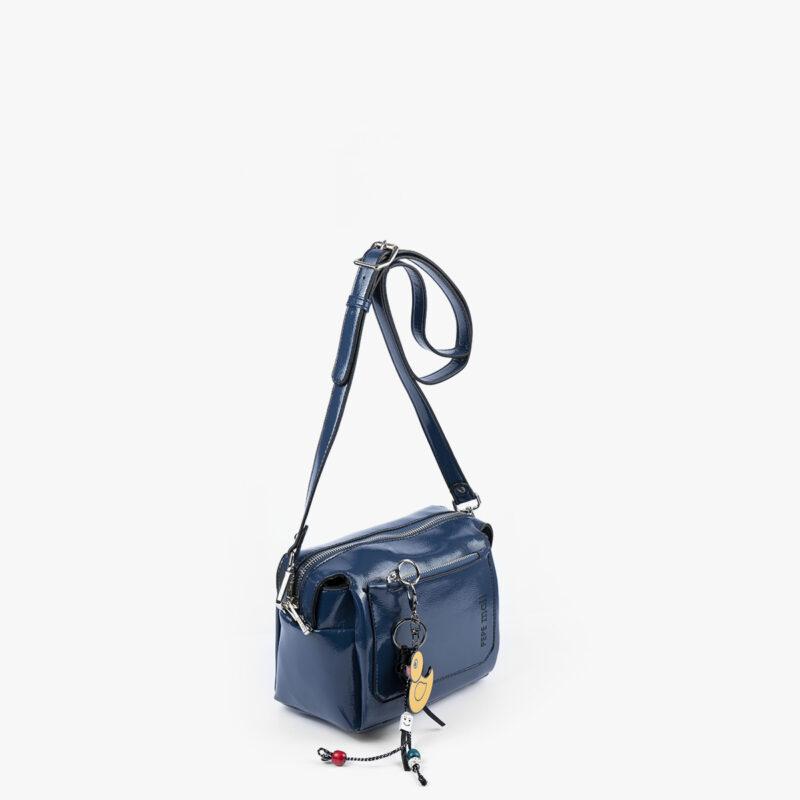 49118 bolso de hombro azul pepemoll perfil