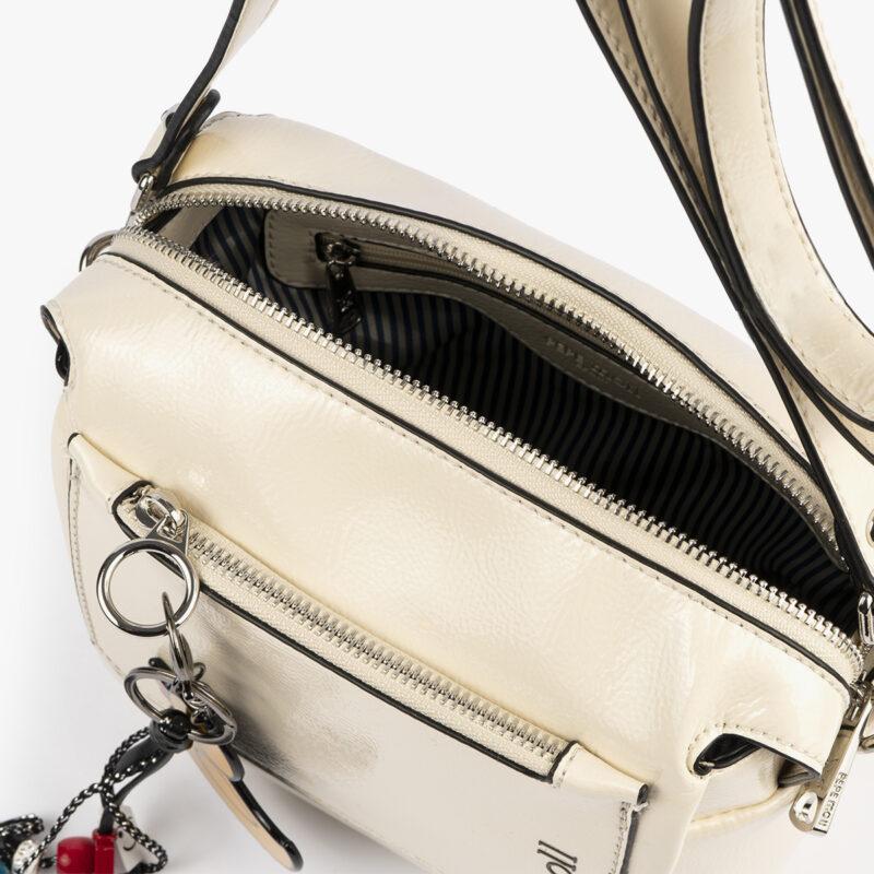 49118 bolso de hombro blanco pepemoll interior