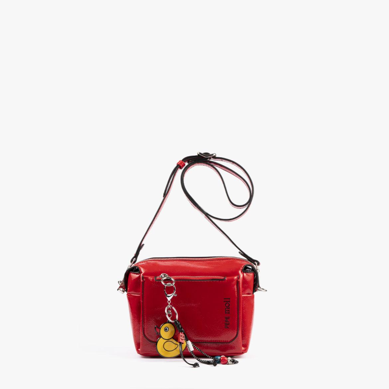 49118 bolso de hombro rojo pepemoll