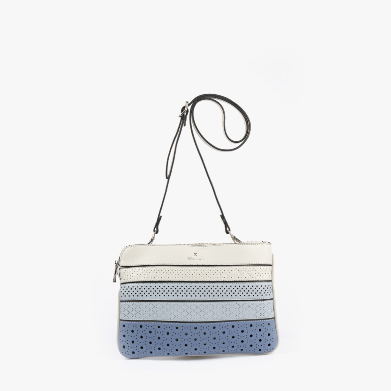 52053 bolso bandolera tricolor azul