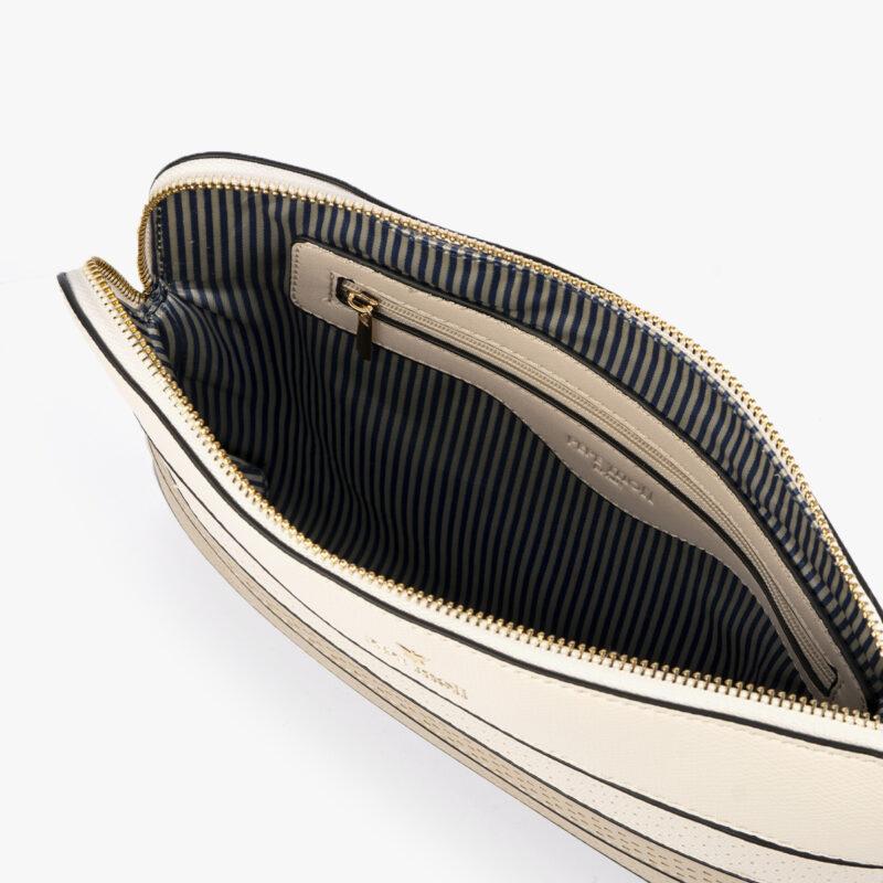 52053 bolso bandolera tricolor dorado interior