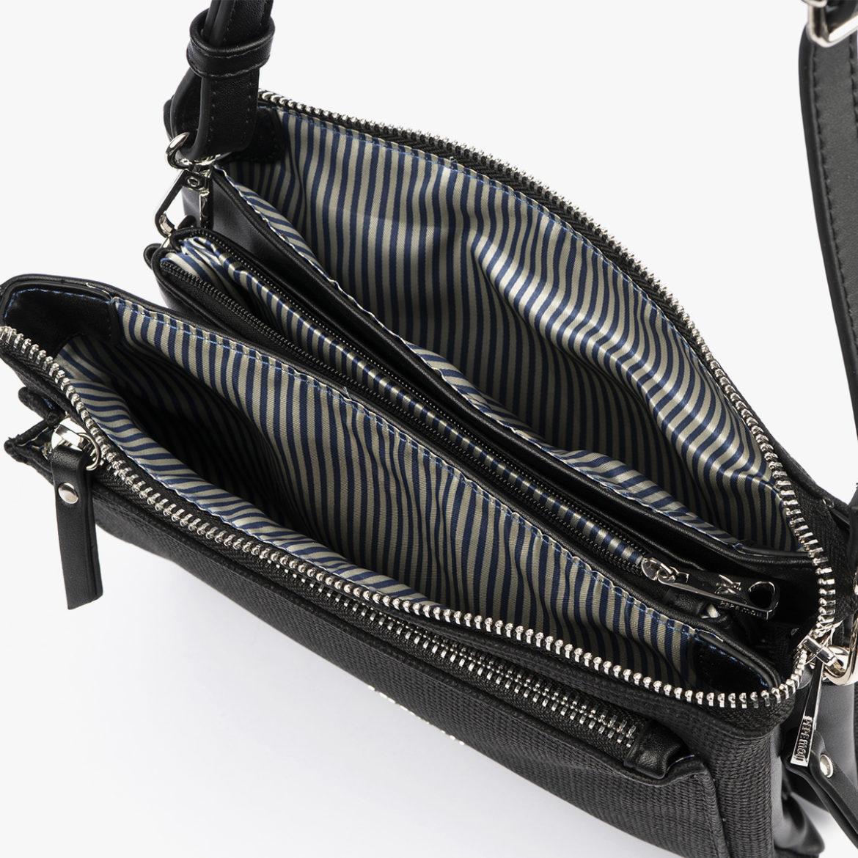 53068 bolso bandolera negro pepemoll