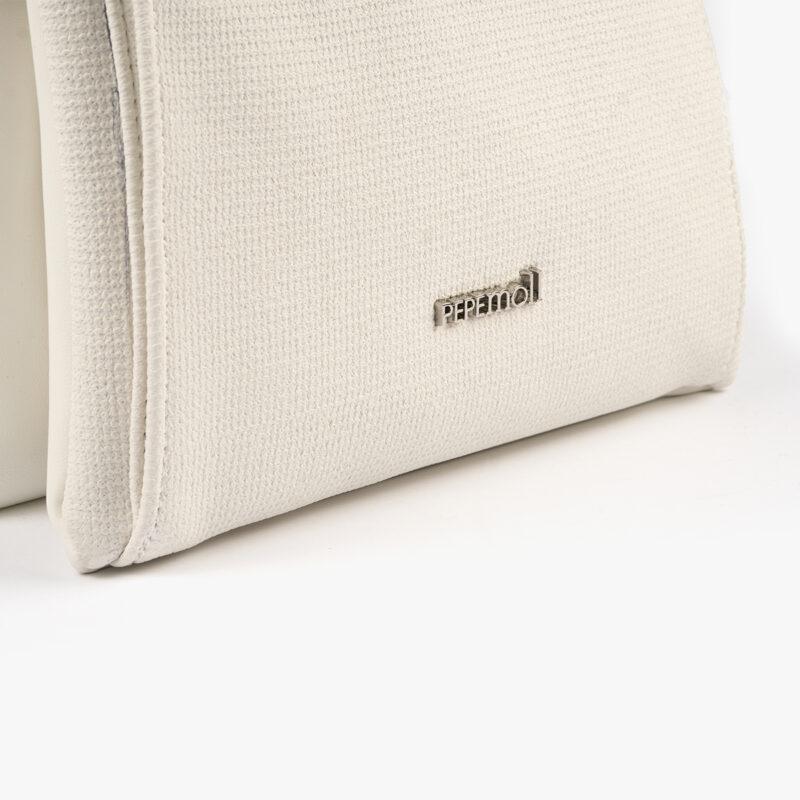 53068 bolso bandolera blanco pepemoll detalle