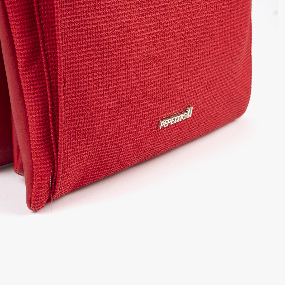 53068 bolso bandolera rojo pepemoll
