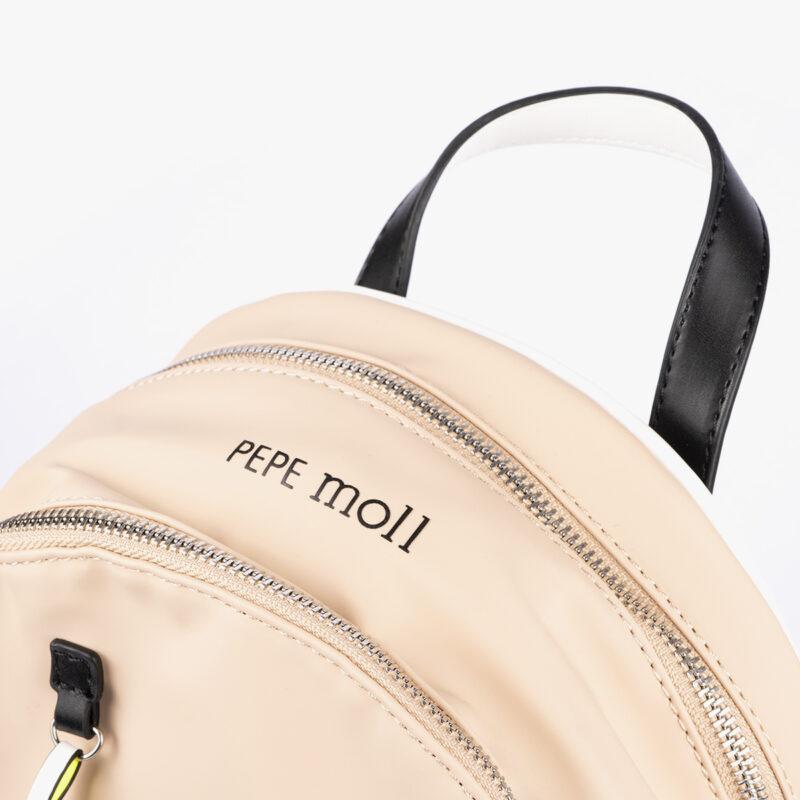 59047 bolso mochila rosa detalle
