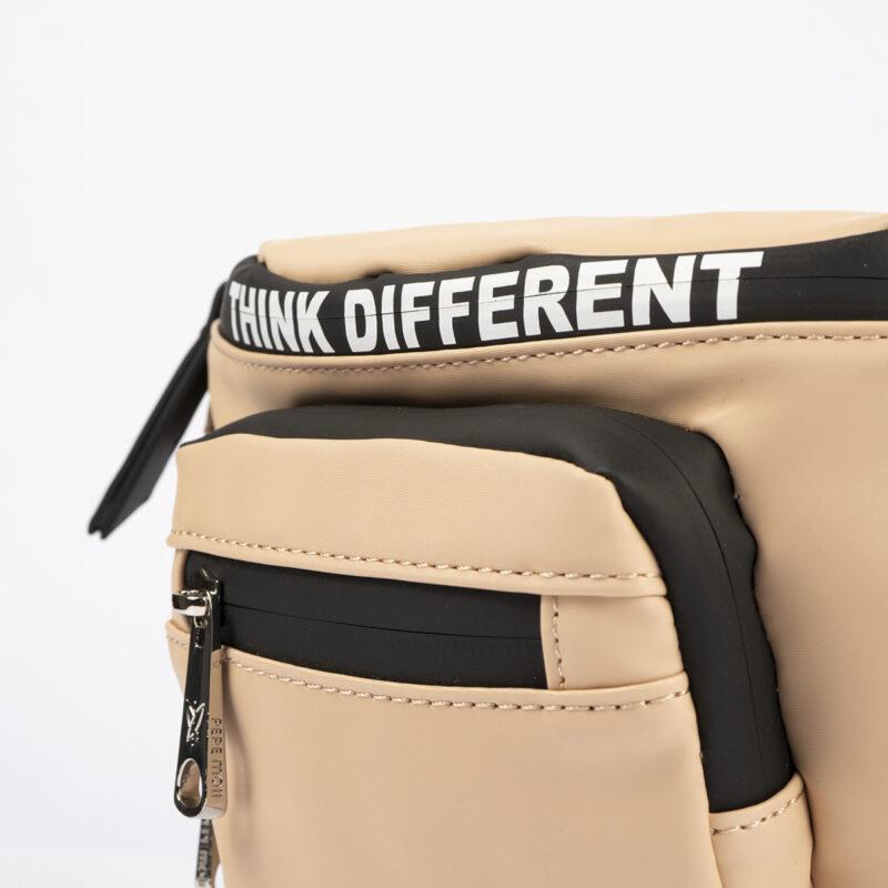 59045 bolso de hombro color nude pepemoll detalle