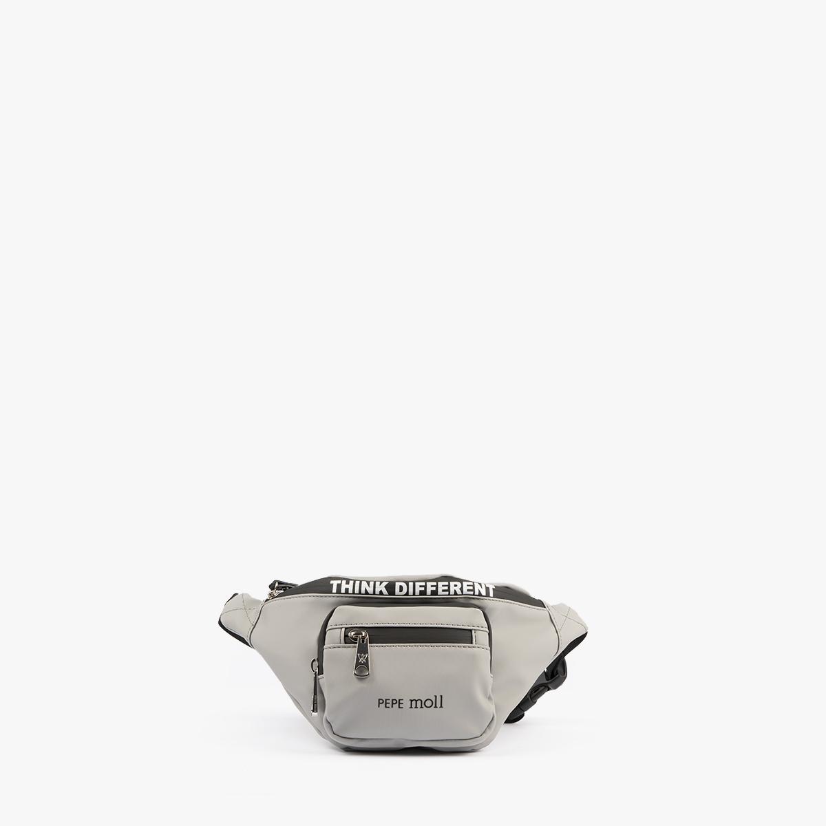 59048 bolso bandolera gris perla pepemoll