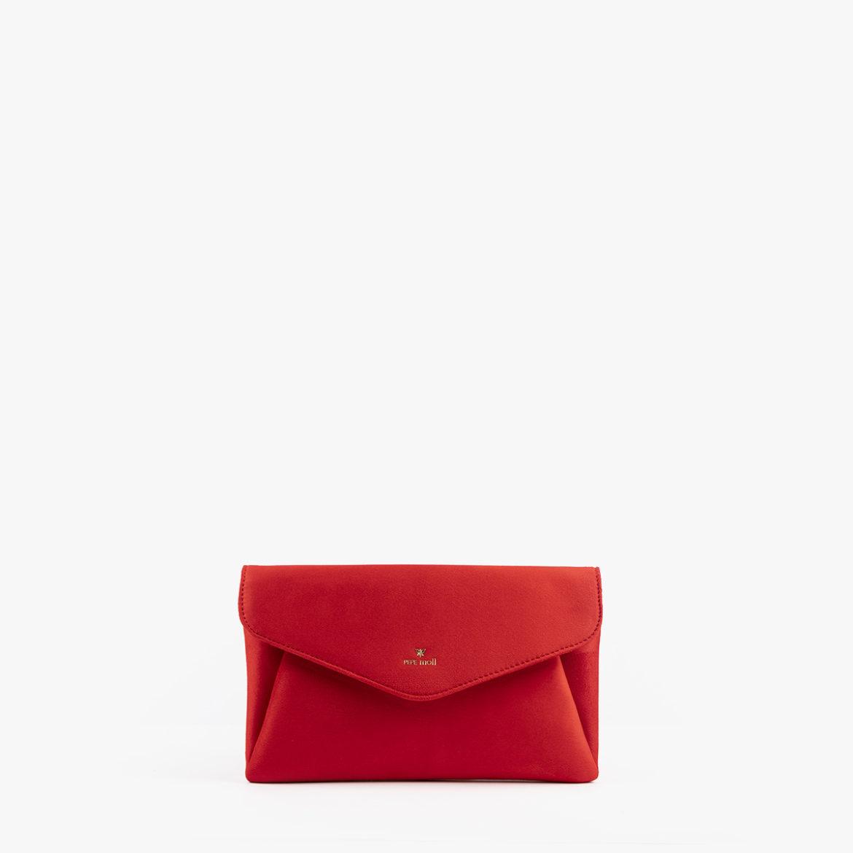 bolso de mano rojo pepemoll 61035