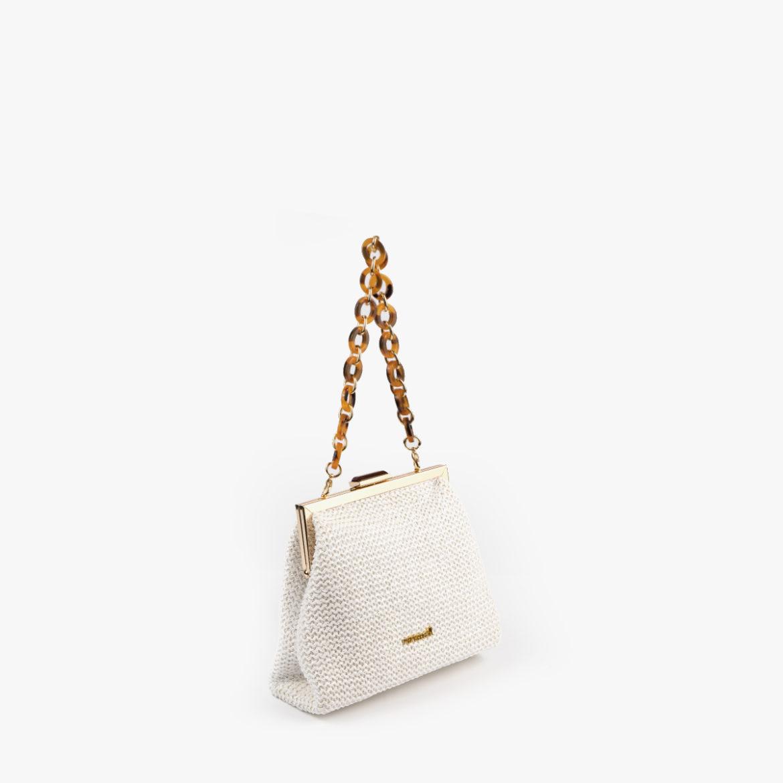 bolso de hombro blanco 61037 pepemoll