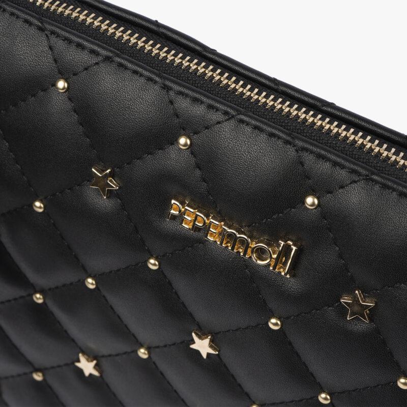 bolso de mano negro 61039 pepemoll detalle