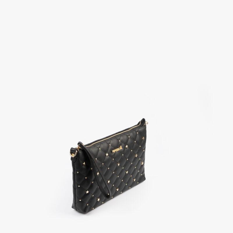 bolso de mano negro 61039 pepemoll perfil