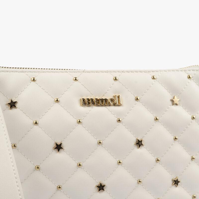 bolso de mano blanco 61039 pepemoll detalle