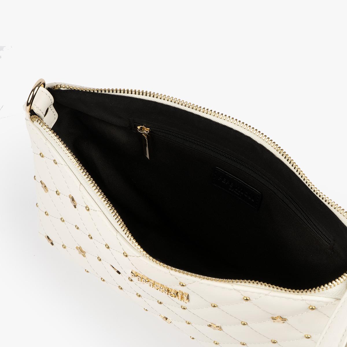 bolso de mano blanco 61039 pepemoll
