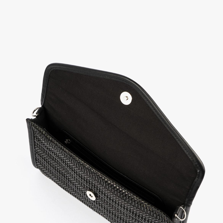 bolso de mano negro 61040 pepemoll