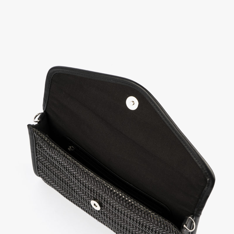 bolso de mano negro 61040 pepemoll interior