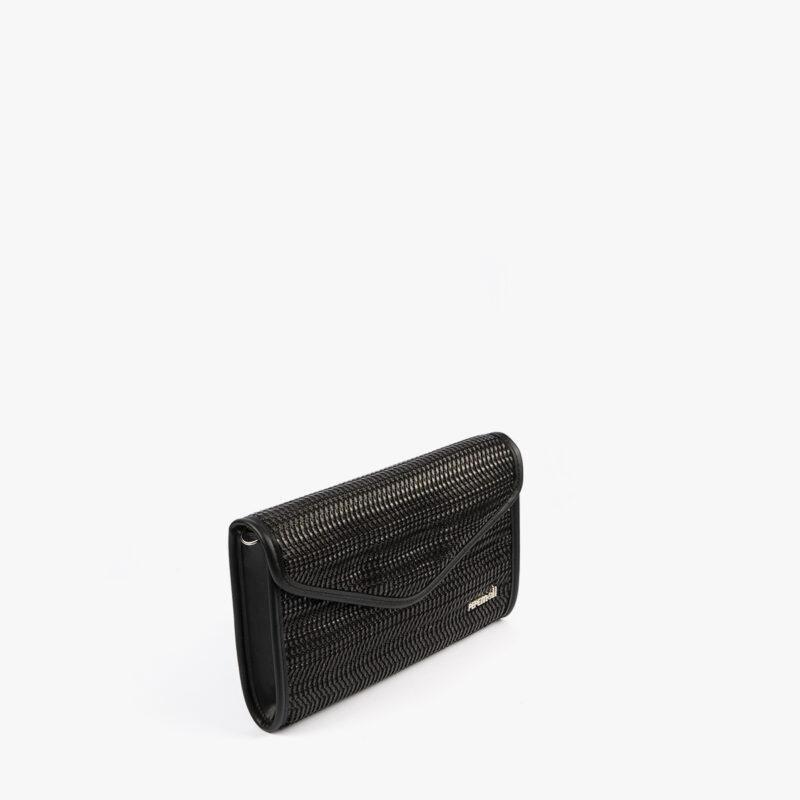 bolso de mano negro 61040 pepemoll perfil
