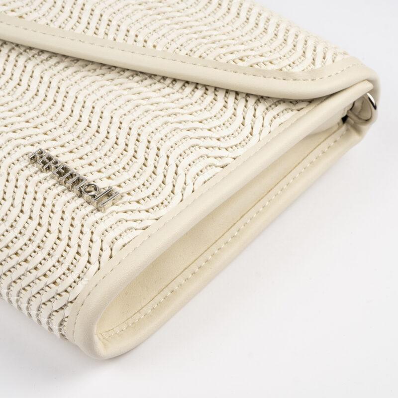 bolso de mano blanco 61040 pepemoll detalle
