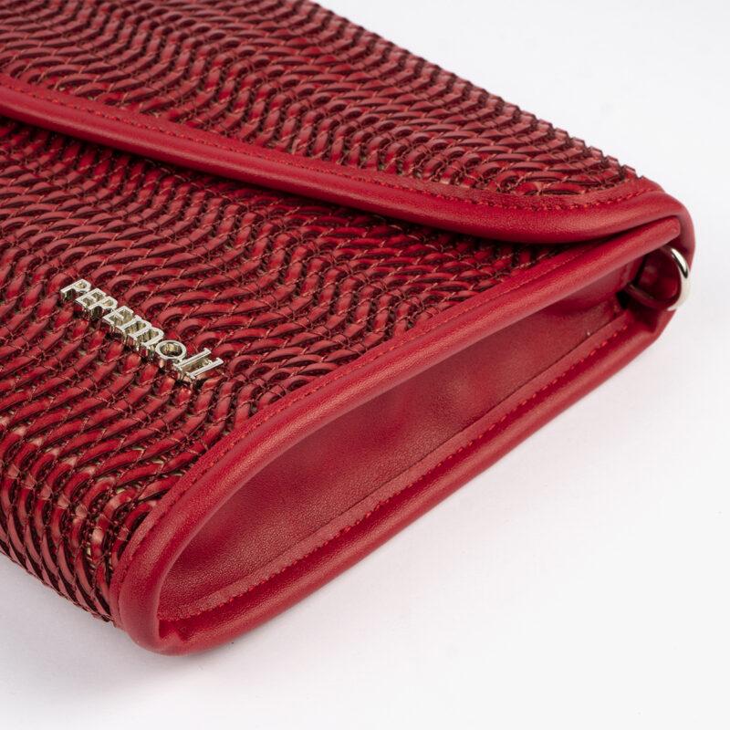 bolso de mano rojo 61040 pepemoll detalle