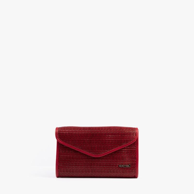 bolso de mano rojo 61040 pepemoll frontal