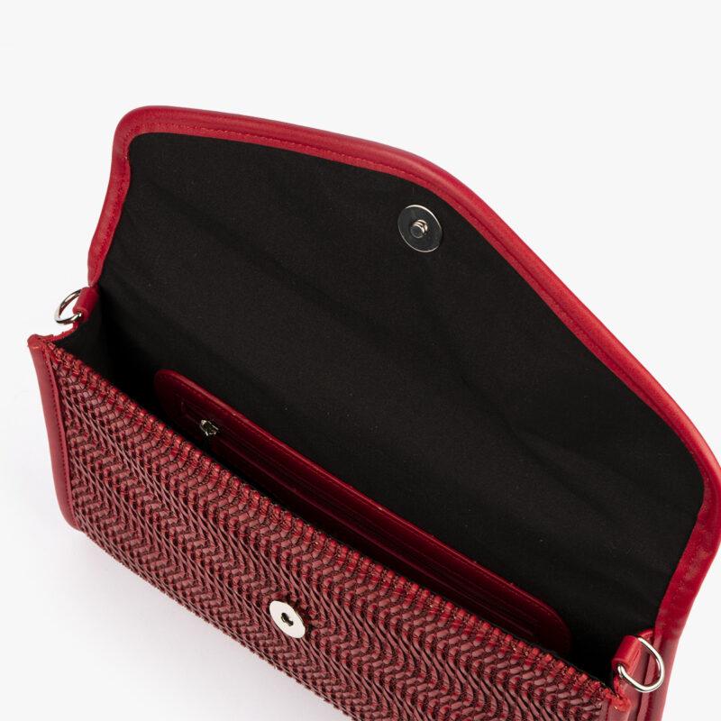 bolso de mano rojo 61040 pepemoll interior