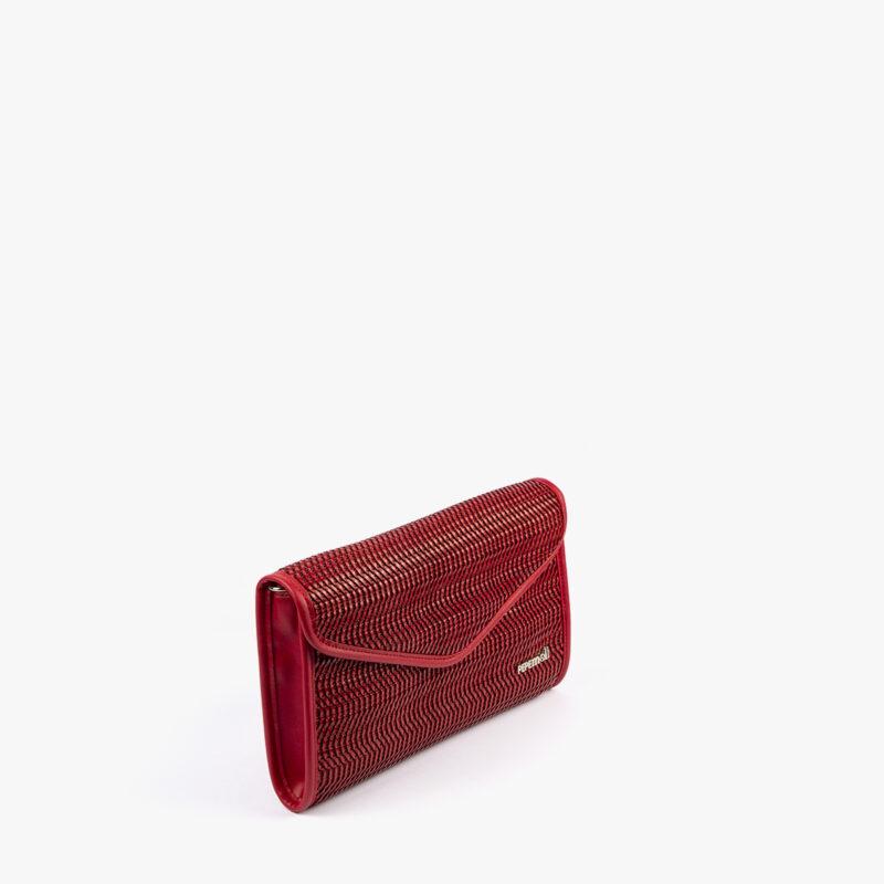 bolso de mano rojo 61040 pepemoll perfil
