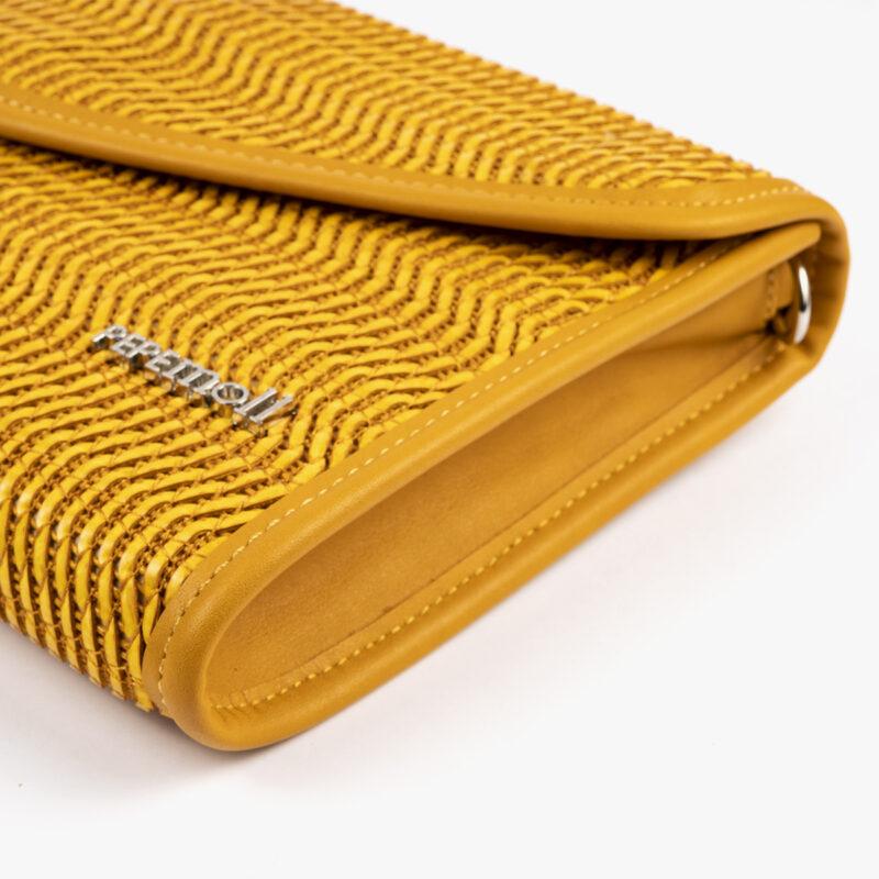 bolso de mano amarillo 61040 pepemoll detalle