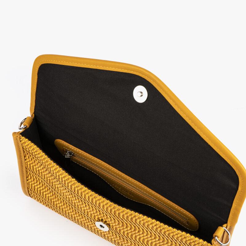 bolso de mano amarillo 61040 pepemoll interior