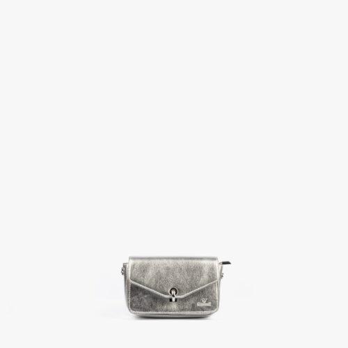 bolso de mano plata 61041 pepemoll