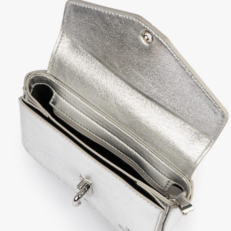 bolso de mano plata 61041 pepemoll interior
