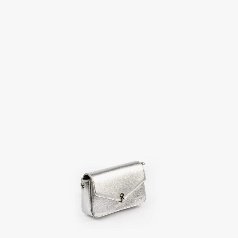 bolso de mano plata 61041 pepemoll perfil