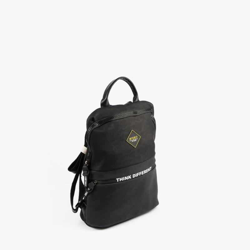 mochila negra h426 pepemoll perfil