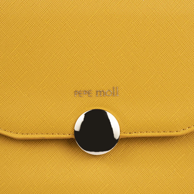 bolso mochila amarillo pepemoll 14127
