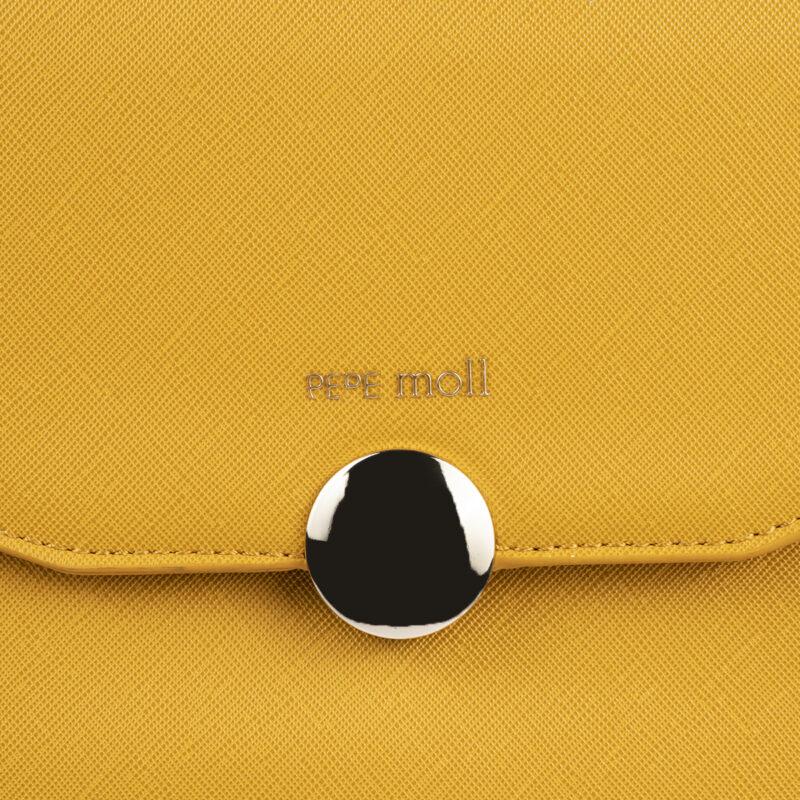 bolso mochila amarillo pepemoll 14127 detalle