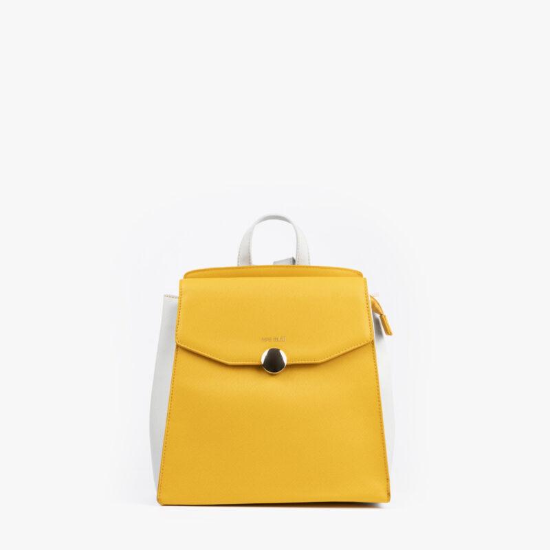 bolso mochila amarillo pepemoll 14127 frontal