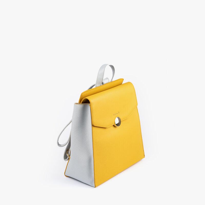bolso mochila amarillo pepemoll 14127 peril