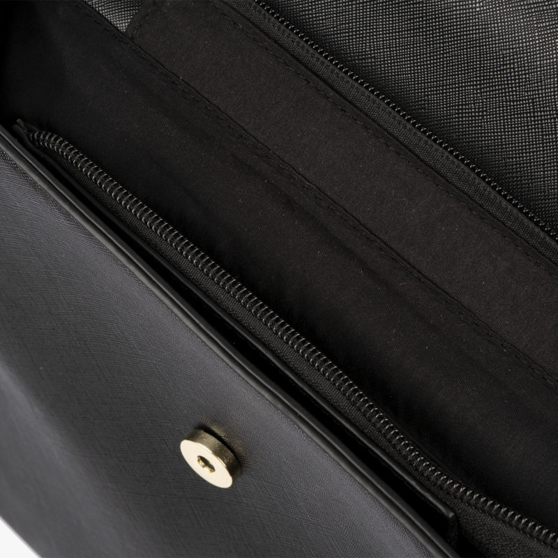 bolso mochila negro pepemoll 14127 interior