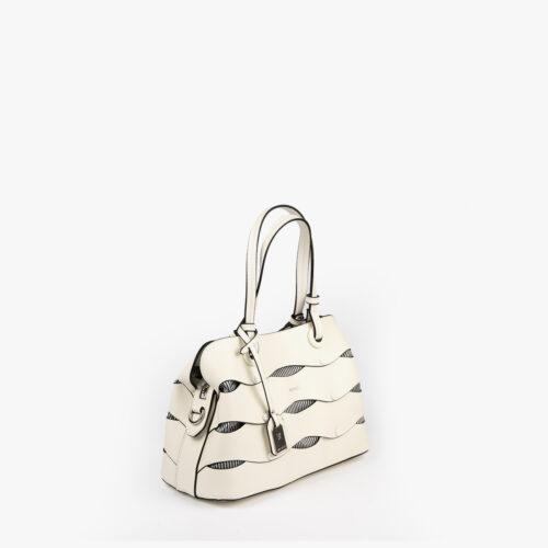 bolso de hombro en color blanco pepemoll 24121