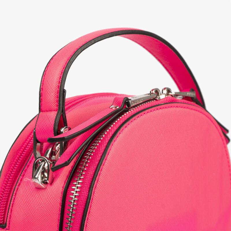 bolso de mano con tono fluorescente en color rosa 29118 detalle