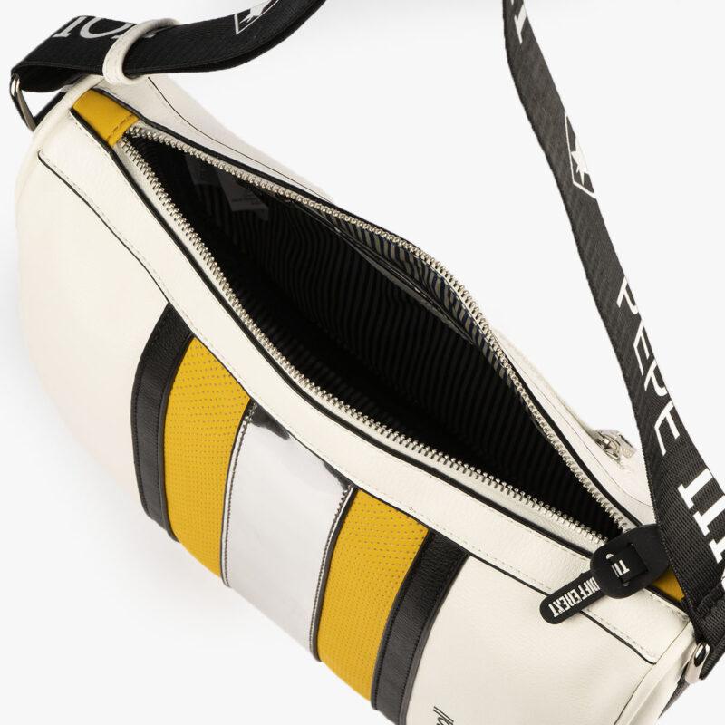 bolso de hombro 34124 amarillo pepemoll detalle interior