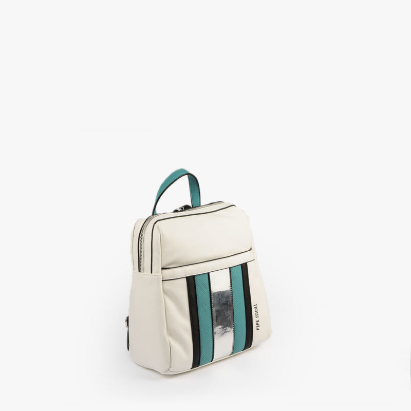 bolso mochila blanco y azul 34126 pepemoll perfil