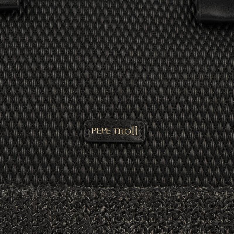 bolso de mano negro 36129 detalle