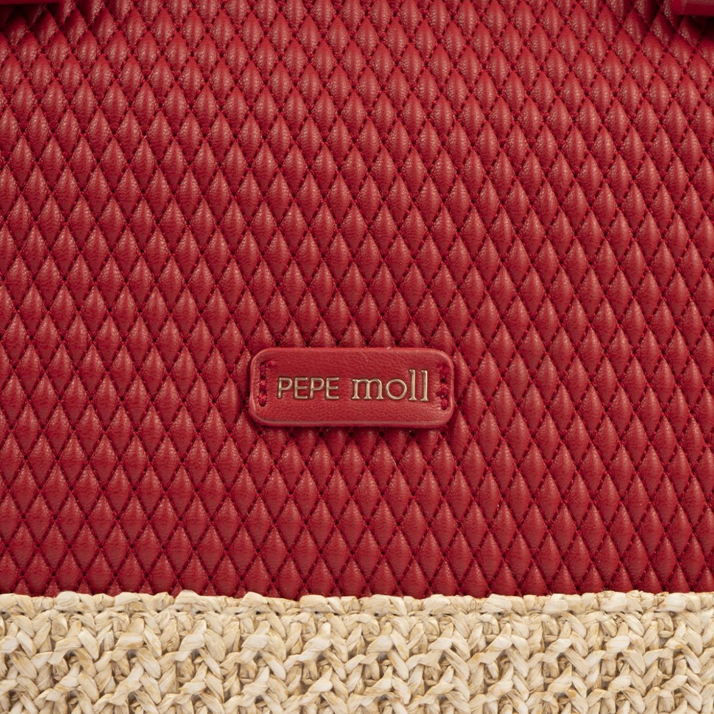bolso de mano rojo 36129