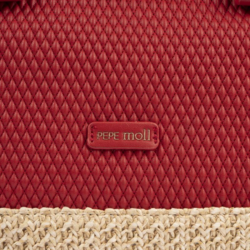 bolso de mano rojo 36129 detalle