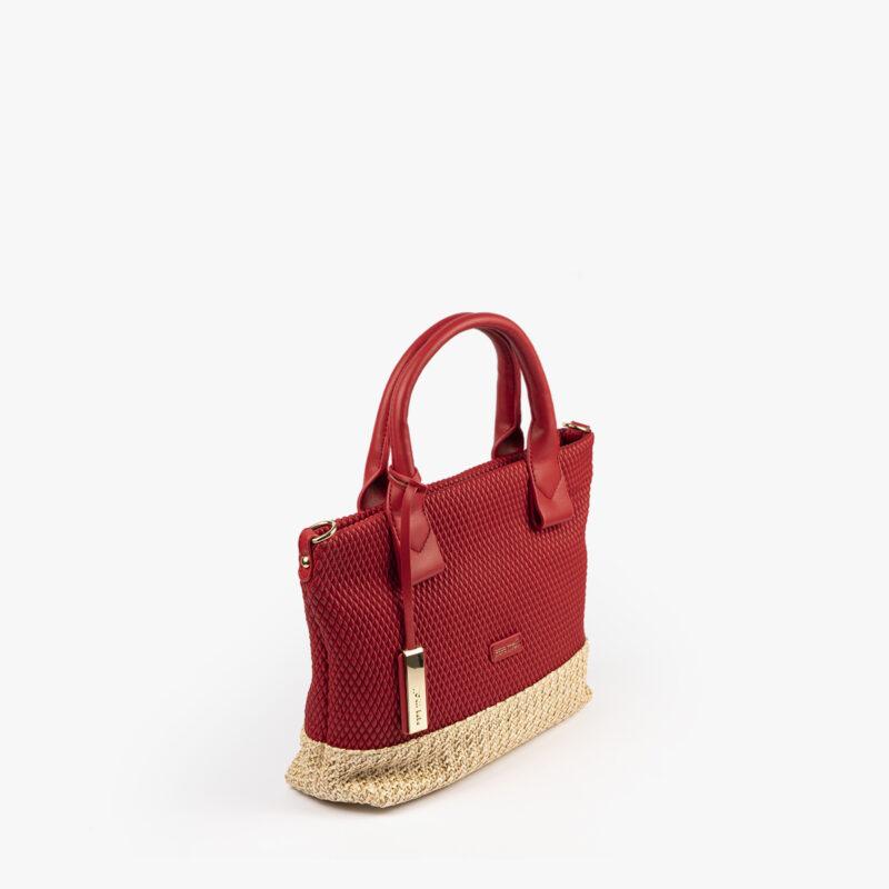 bolso de mano rojo 36129 perfil